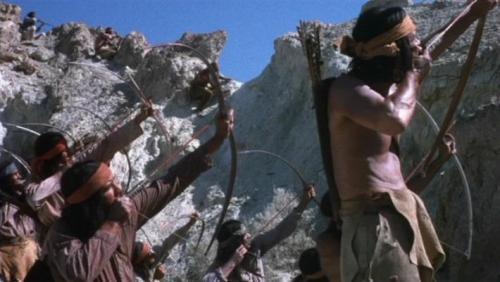 Escape from Fort Bravo (A Fuga do Forte Bravo, John Sturges, 1953) índios