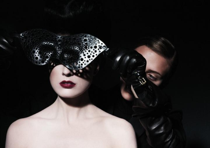 Dita Von Teese & Scarlett Johansson by James White 08