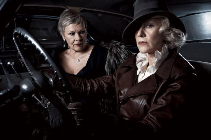 "THE GETAWAY. INT./EXT. MULHOLLAND DRIVE—NIGHT     Cue swirling, maddening violins. Tilda Lydeker (Helen Mirren), aunt to Laura and Rebecca Lydeker, paramour to three-fourths of Beverly Hills circa 1929, and the brains behind the city's third-largest citrus fortune, must drive, and she must drive fast. She knows just how lemonade is made in this town, and she knows Oscar learned the tricks of her trade all too well, and she knows how it all went sour. Oscar may have been just some low-life private dick, and he may have been too free with his fists, but sometimes a woman needs a man who's man enough to remind her that she's a woman—that is, if she's woman enough to take it. And Tilda could take it. Oh, how she could take it. She took it, and she took it, and she took it again. And then once more for laughs.      Along for the ride is Tilda's older half-sister, Alma (Judi Dench), issue of their father's youthful dalliance—or was it something more sinister?—with the beautiful daughter of migrant citrus pickers. They say Alma's ""slow,"" but, like her half-sister, when it comes to trouble she's awfully swift on the pickup."