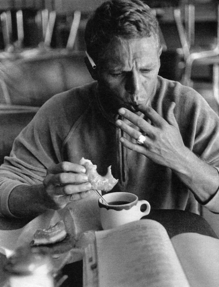 Steve McQueen by William Claxton 1964