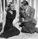 Marlene Dietrich e Ernst Lubitsch durante as filmagens de Angel (1937) quando há muito já se preocupavam com a ascensão do nazismo