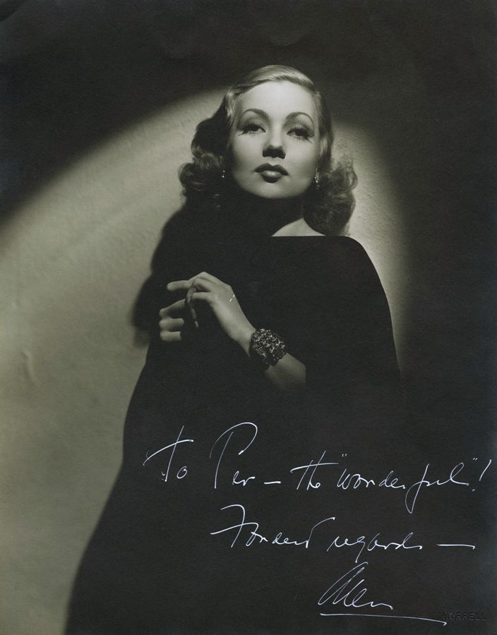 Ann Sothern by George Hurrell (Circa 1936)