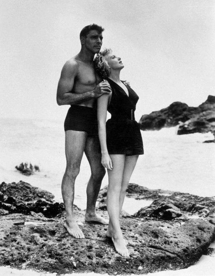 BURT LANCASTER & DEBORAH KERR (From Here to Eternity)