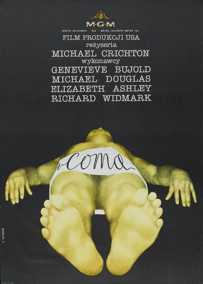 Coma (1978) Polish Poster