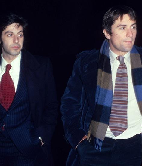 Al Pacino & Robert de Niro (O Poderoso Chefão II/ The Godfather Part II, Francis Ford Coppola, 1974)