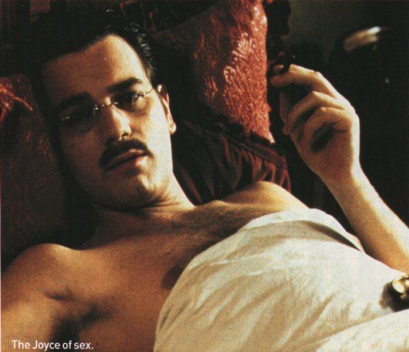 Ewan Mcgregor como James Joyce em Nora (2000)