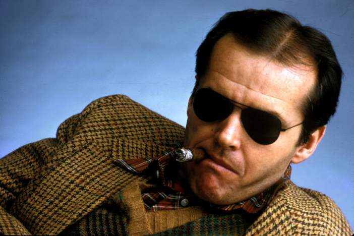 Jack Nicholson for Interview by Klaus Lucka von Zelberschwecht