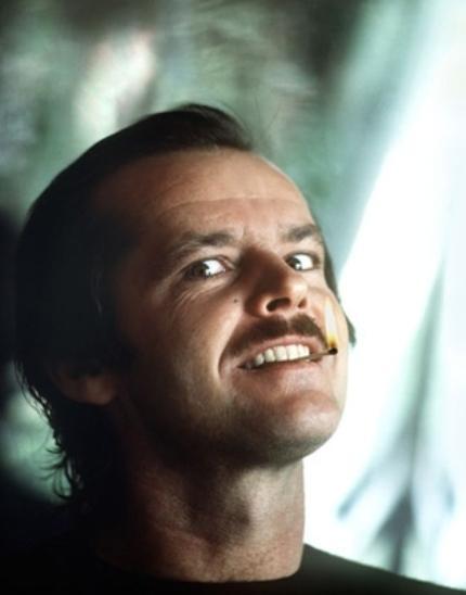 Jack Nicholson (O Iluminado/The Shining, Stanley Kubrick, 1980)