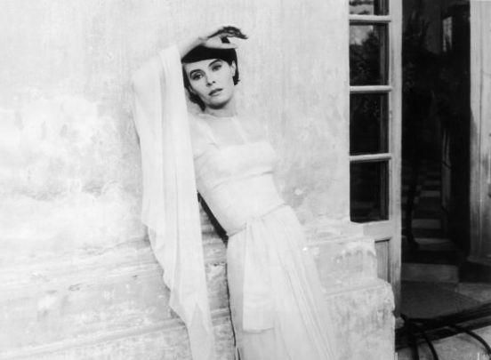 Delphine Seyrig (O ano passado em Marienbad/L'année dernière à Marienbad, Alain Resnais, 1961)