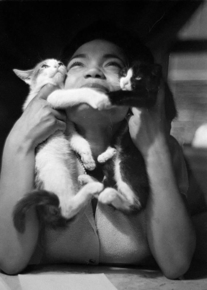 Eartha Kitt by Gordon Parks
