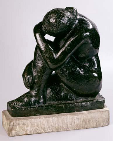 Grief (Sepulchral Figure)