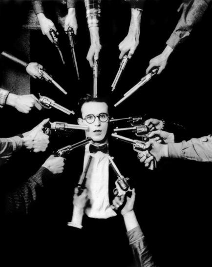 Harold Lloyd (O Homem Mosca/Safety Last! Fred C. Newmeyer/Sam Taylor, 1923)