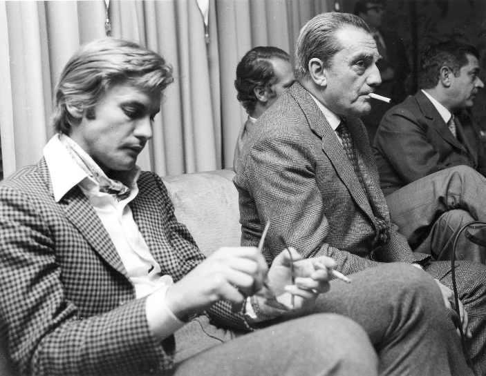 Helmut Berger, Luchino Visconti - 1969