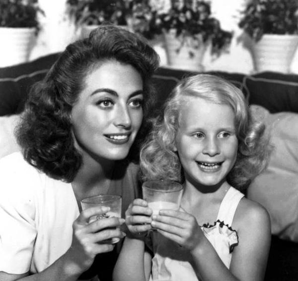 Joan and christina crawford
