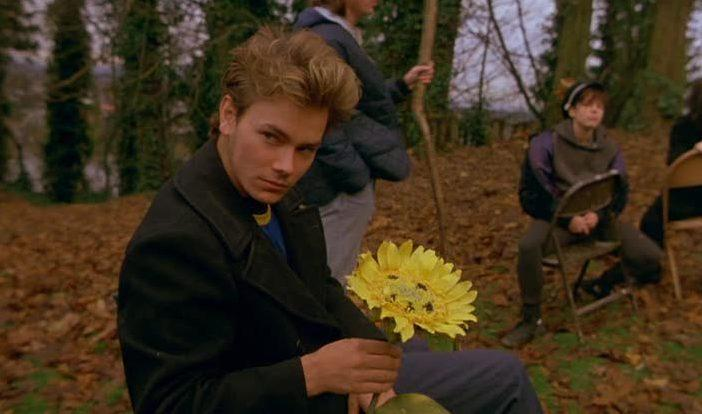 River Phoenix em Garotos de Programa (My Own Private Idaho, Gus Van Sant, 1991)