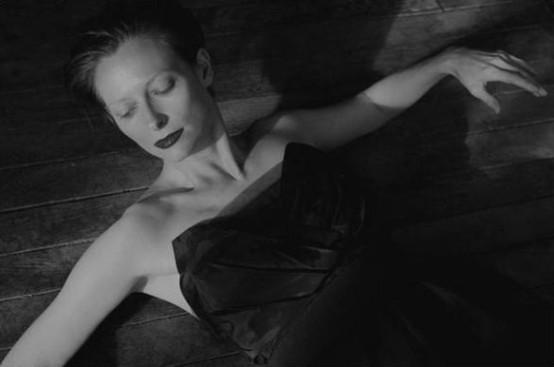 Tilda Swinton (Blue, Derek Jarman, 1993)