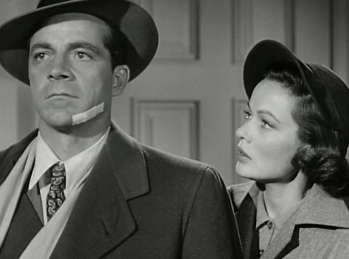 Where the Sidewalk Ends - DANA ANDREWS & GENE TIERNEY