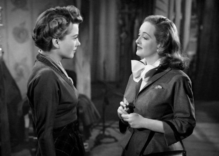 ANNE BAXTER & BETTE DAVIS - All About Eve (1950)