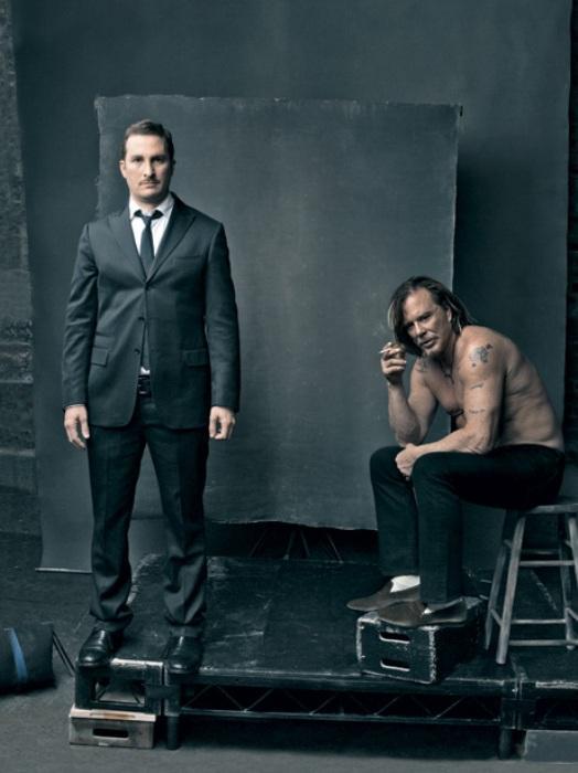 Darren Aronofsky & Mickey Rourke - The Ringers
