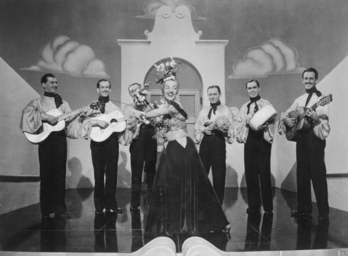 Down Argentine Way (1940) CARMEN MIRANDA & BANDO DA LUA