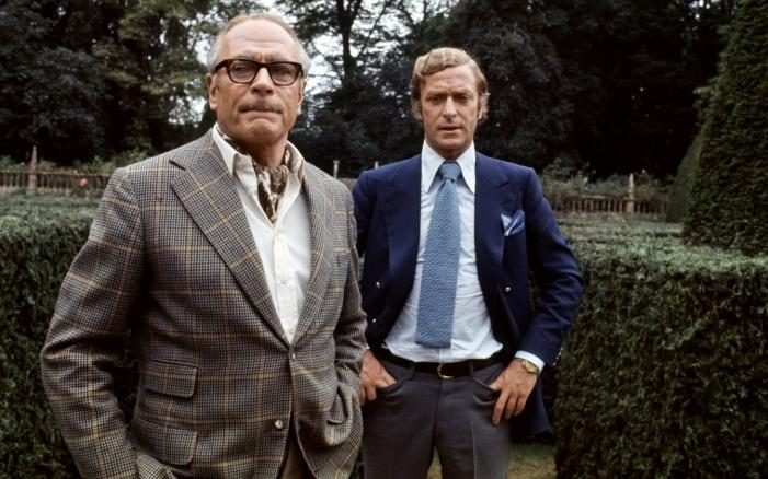 Laurence Olivier, Michael Caine - SLEUTH (1972)