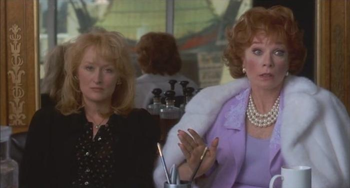Mery Streep & Shirley McLaine