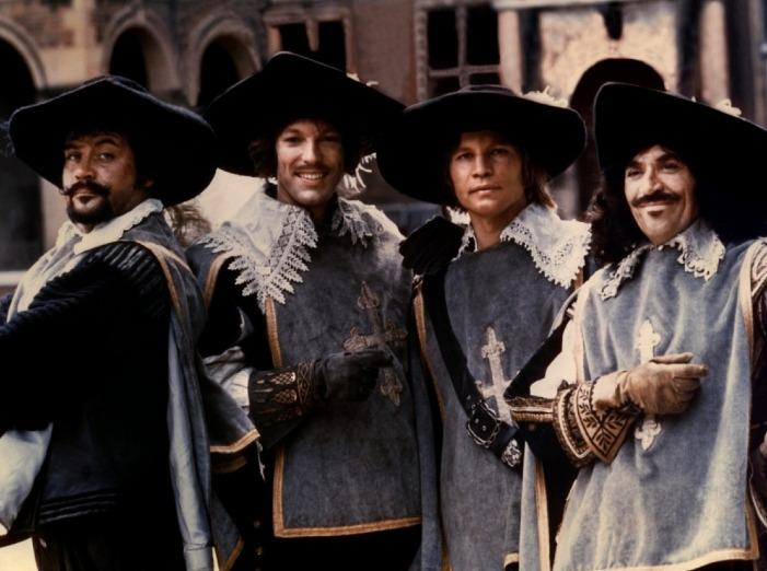 The Four Musketeers (1974) - Oliver Reed, Richard Chamberlain, Michael York, Frank Finlay