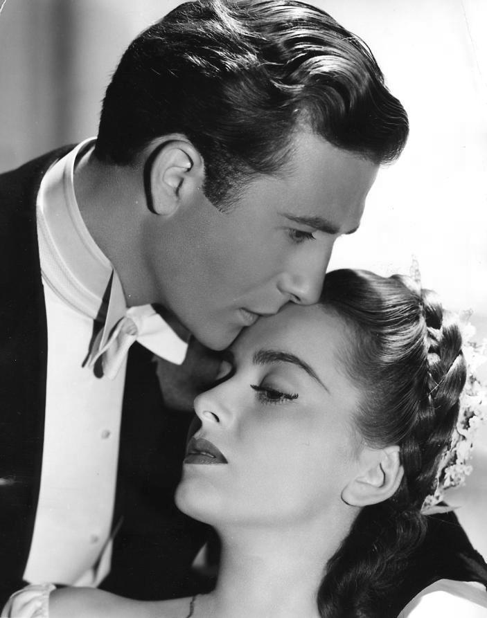 Olivia De Havilland stars with Jeffrey Lynn in the film My Love Came Back