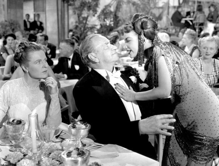 Selena Doyle, Wallace Beery, Carmen Miranda (A Date With Judy)