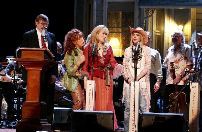 Meryl Streep, Lily Tomlin, Lindsay Lohan