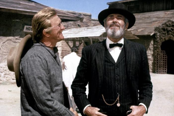 There Was a Crooked Man... (1970) KIRK DOUGLAS & HENRY FONDA