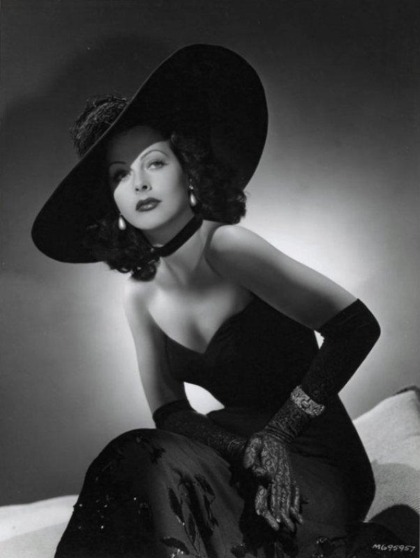 Hedy Lamarr by Willinger