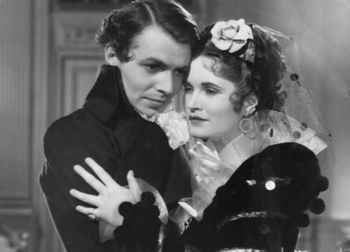 James Mason as Tallien and Margaretta Scott as Theresa in The Return of the Scarlet Pimpernel