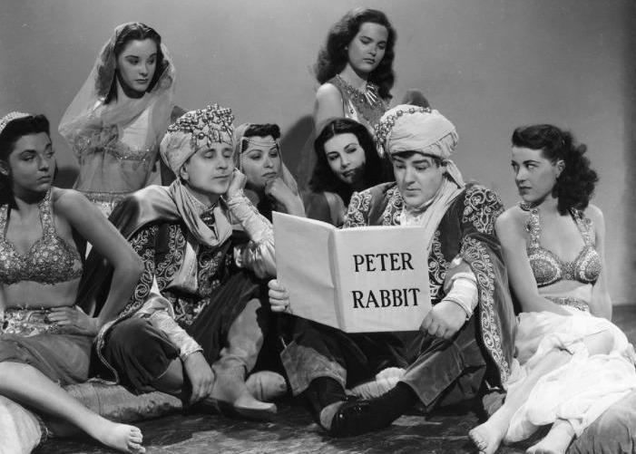 Bud Abbott e Lou Costello - Perdidos no Harém (Lost in a Harem, Charles Reisner, 1944)