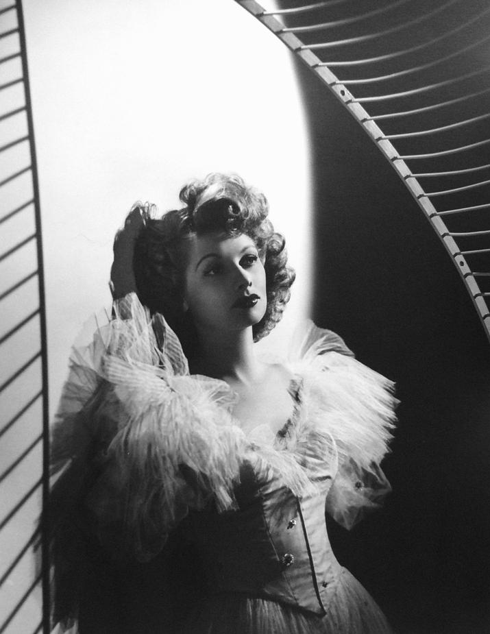 Lucille Ball: Chiffon Gown