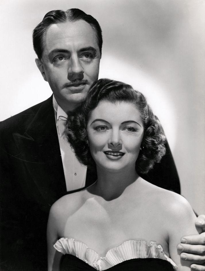 Myrna Loy and William Powell in I Love You Again by Laszlo Willinger (1940)