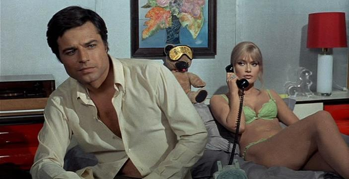 Perversion Story (1969) Jean Sorel & Marisa Mell