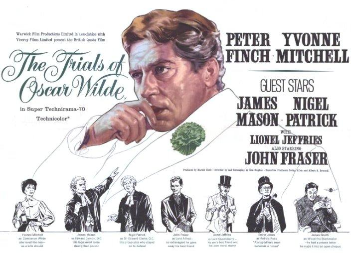 The Trials of Oscar Wilde (1960) POSTER