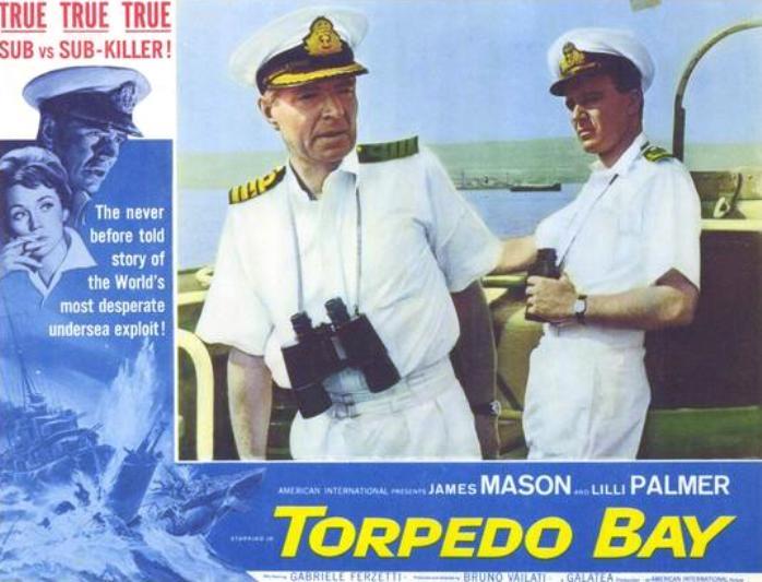 Torpedo Bay (1962) - JAMES MASON & Gabriele Ferzetti