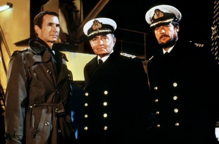 Anthony Perkins, James Mason, Roger Moore - NORTH SEA HAILJACK
