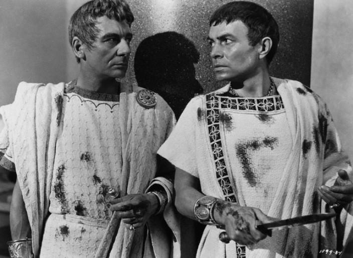 Julius Caesar - JOHN GIELGUD & JAMES MASON