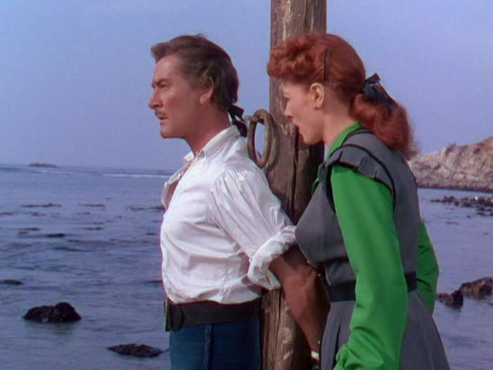 Against All Flags (1952) Errol Flynn & Maureen O'Hara