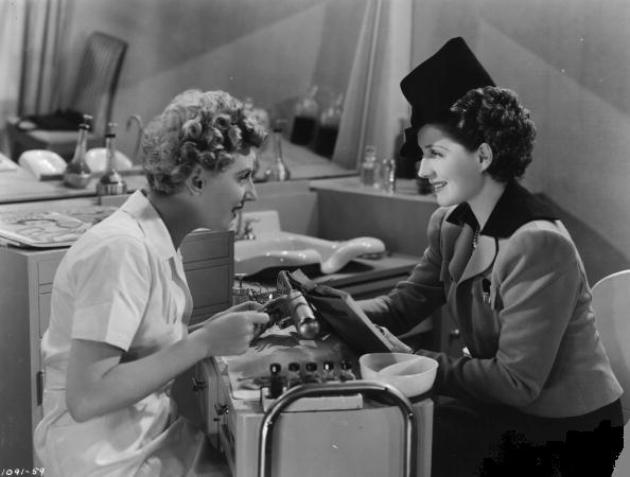 Dennie Moore & Norma Shearer