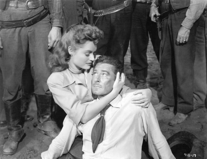 Errol Flynn & Alexis Smith (Montana)