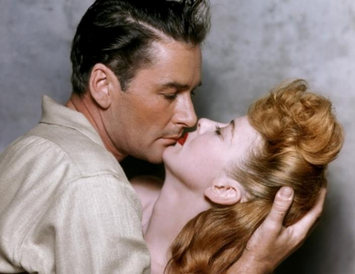 Errol Flynn & Ida Lupino (Escape Me Never)