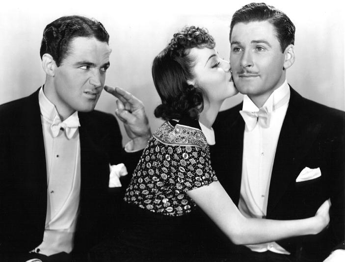 Four's a Crowd (1938) - Patrick Knowles, Olivia de Havilland & Errol Flynn