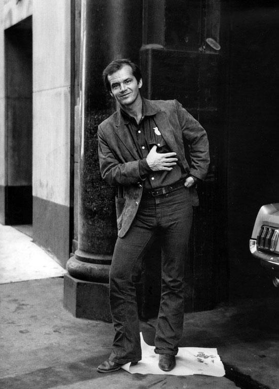 Jack Nicholson by Otto Stupakoff