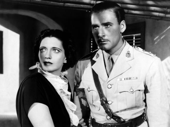 Kay Francis & Errol Flynn (Another Dawn)