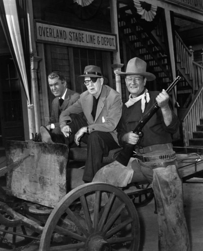 Liberty Valance - James Stewart, John Ford, John Wayne