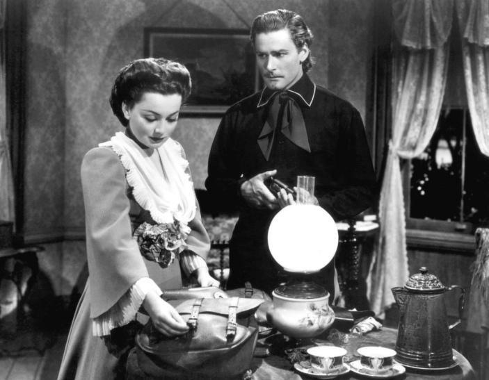 Olivia de Havilland, Errol Flynn (They Died With Their Boots On)